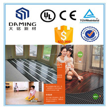 Environment protecting recyclable ptc floor heating system