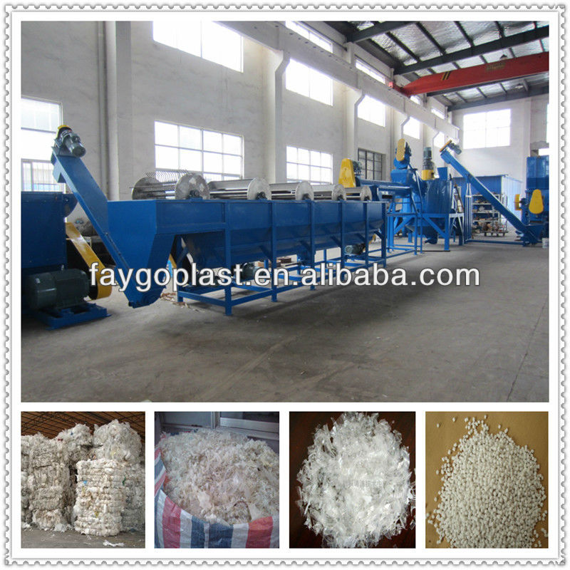 pp woven bag recycling machine/washing line