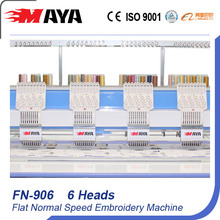 6 Heads Flat Embroidery Machine Standard Model