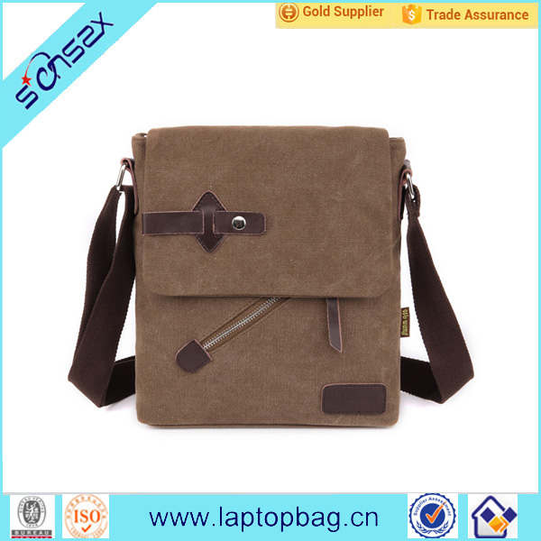 high quality blank canvas wholesale messenger bags