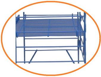 Сверхмощный индивидуальные прочный этаж металл хранения полка для склада