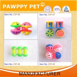 Plastic Cat Toy Balls Ethical Pet Slotted Balls For Cat