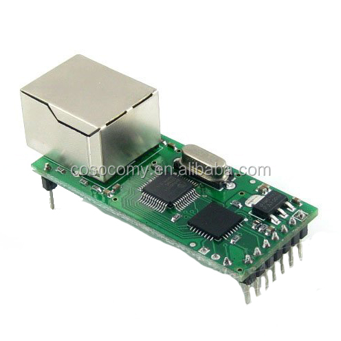 USR-TCP232 High-speed Ethernet To Serial RS232 Module Convertor TCP/UDP Data To UART RJ45 Ethernet