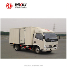 China dongfeng mini semi trucks for sale 4x2 van model for sale
