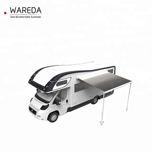 New electric retractable car canopy rv camper awning