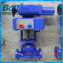 Proportional Electric Actuator WCB Flanged Water Flow Control Valve
