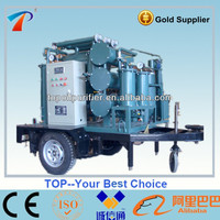 Outdoor Usage Vacuum Transformer Oil Purification Machine/Dielectric Oil Filtering Unit