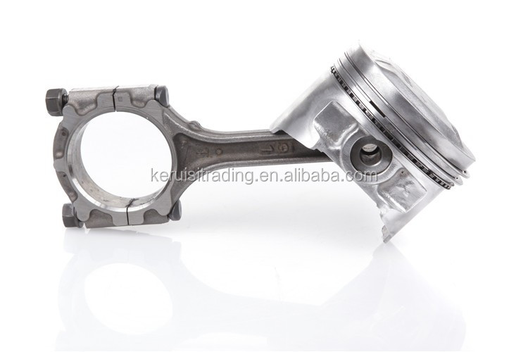 KR forged titanium h beam conrod for opel
