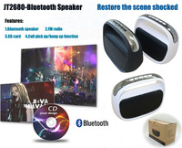 Wireless bluetooth speaker phone with car Handsfree Receive Call Music