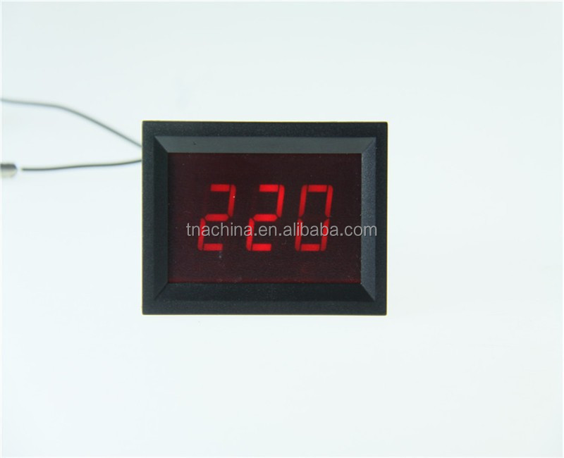 0-300V AC small Digital Voltmeter wenzhou
