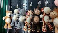 plush lion/elepant keychain toys/16cm stuffed animal toys for sale