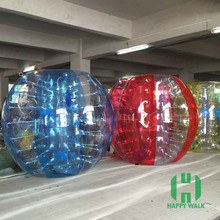 HI top quality100% PVC bubble soccer bumper ball body ball body bounce grass ball
