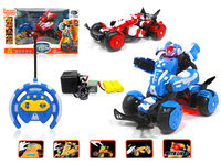 Good selling! R/C car,China alibaba children toy strong stability plastic toy r/c deformation robot stunt sports car with ligth