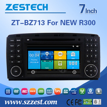 7 inch car TV for Benz R300 B200 car accessories car multimedia player with garmin 800 gps digital radio