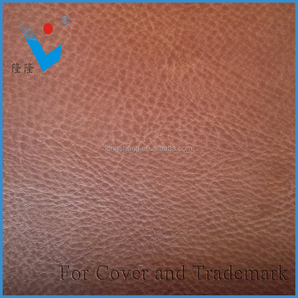 pu thermo reactive leather cover for notebook