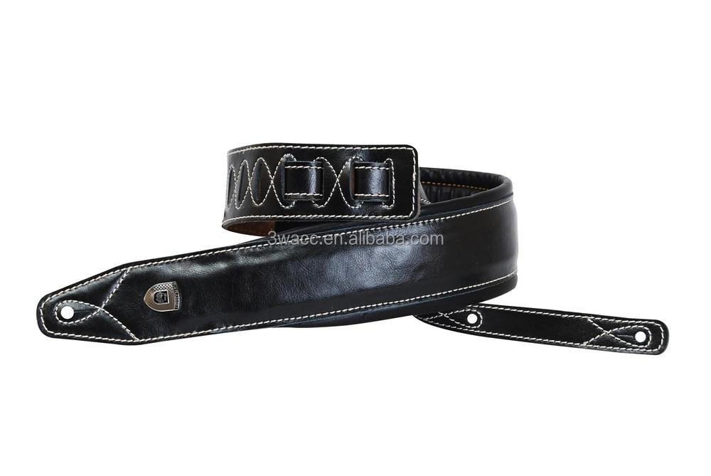 Real Leather Guitar strap