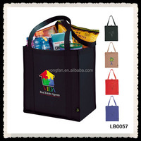Colorful Eco-friendly Custom Nonwoven Recycle Shopping Bag
