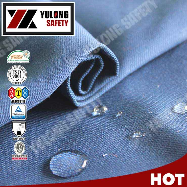 Wholesale China Factory AATCC22 Standard Waterproof Cotton Fabric For Clothing