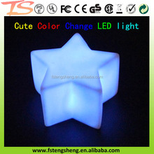 Star Color Changes Children LED Night Lamp Party/room decor light