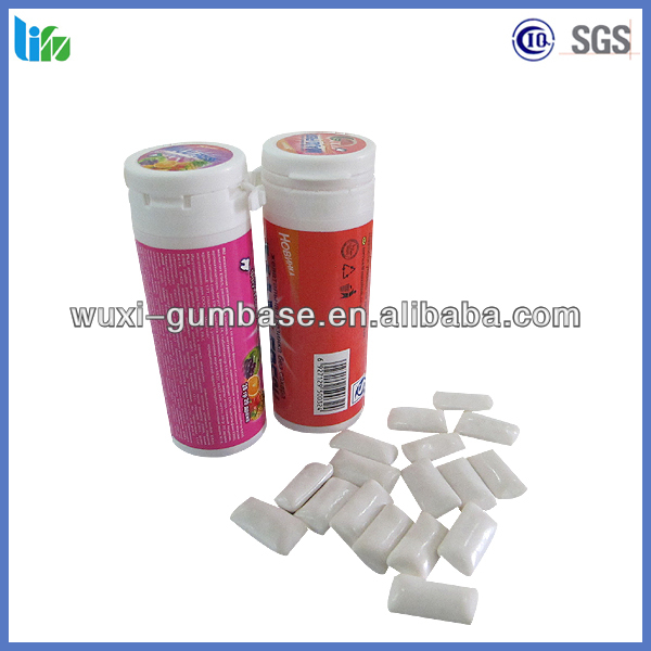 Special refresh teeth apple chewing gum bulk pellet