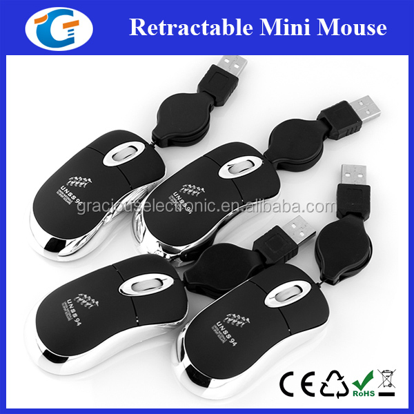 Corporate gifts super mini cute wired optical mouse