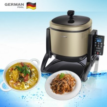 German Pool Scientific Safe Noodles Flameless stir Smart stiring machine Wok for Hotal