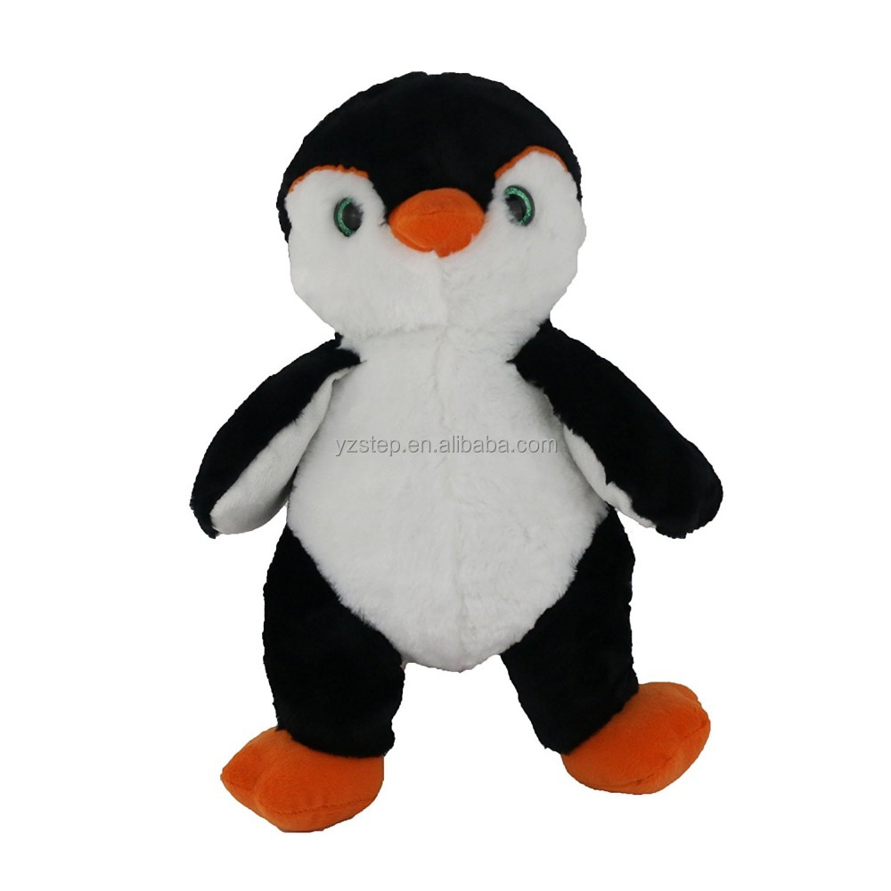 Cuddly Soft Black And White Penguin <strong>Plush</strong>