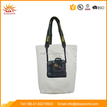 Nikon tote bag with canvas material and camera picture