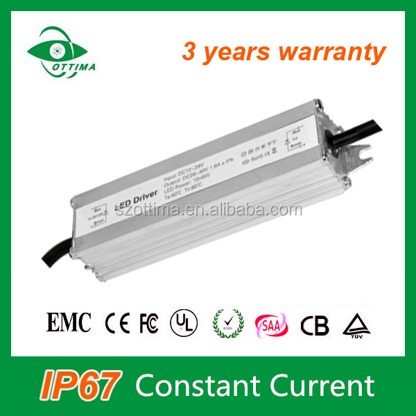 3 years warranty dc power supply waterproof IP65 led driver 130w cnstant current 3.9A led power supply