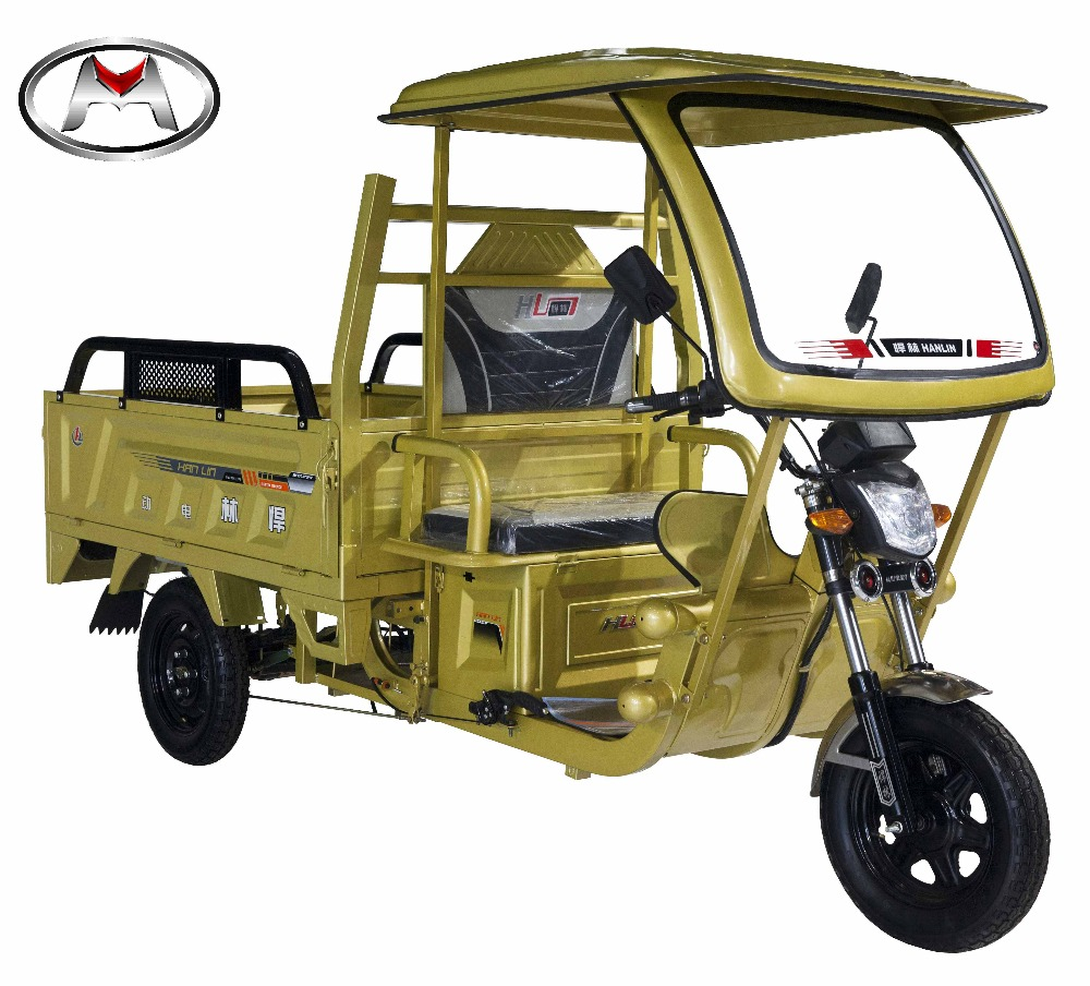 Cheap Cargo Use Electric Motorcycle Truck 3-Wheel Tricycle
