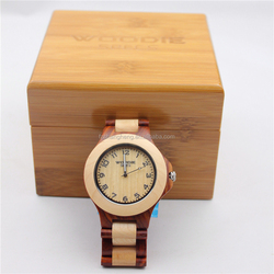 Wholesale high quality fashion wooden watches natural vogue quartz watch