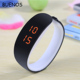 Led Sports Couple Candy Color Bracelet Electronic Watches