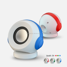 bluetooth speaker 400mAh DC 3V small gun HK fair,Cartoon speaker