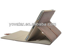 Smart Cover Leather Briefcase folio Case with Kickstand for iPad-Mini