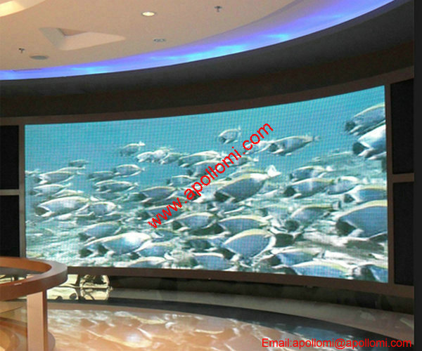display vivid fullcolor led display sign wall P4.81mm led