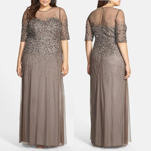 Sexy fat mother of the bride dresses for fat lady gown