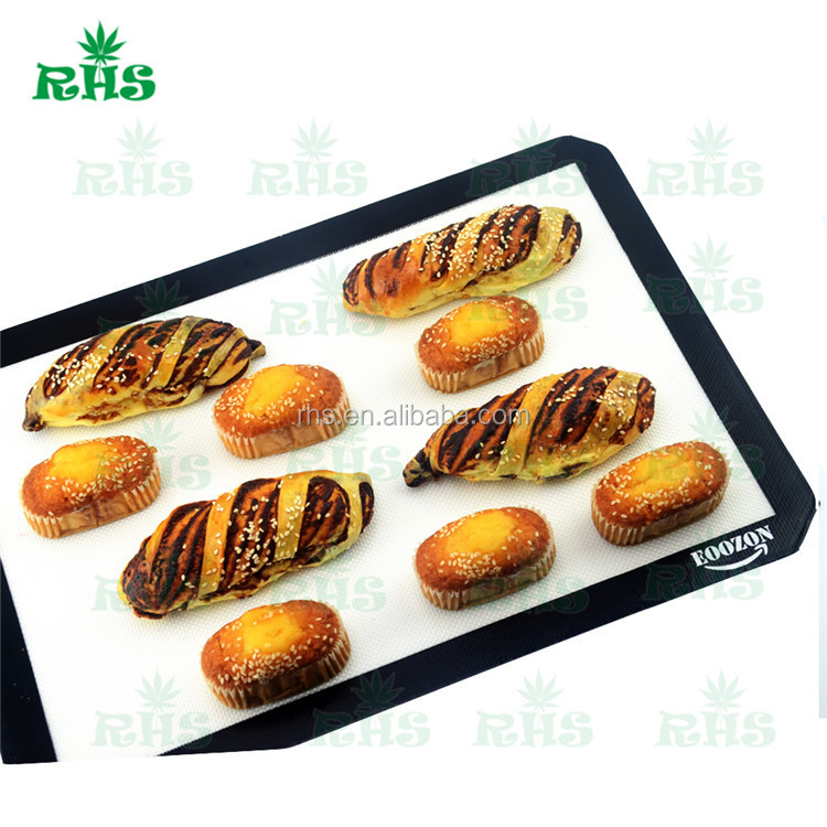 Non-Stick Heat Resistant heat resistant table mats custom silicone baking anti-slip mat