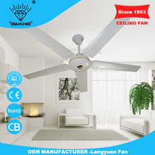 Alibaba china 56'' outdoor ceiling fan speed regulator with 5 blades