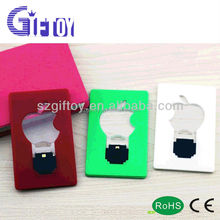 Fashion fruit/apple shaped mini pocket led light card for promotional