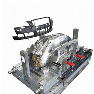 2017 new hot selling auto parts automobile front bumper injection mould from design to produce
