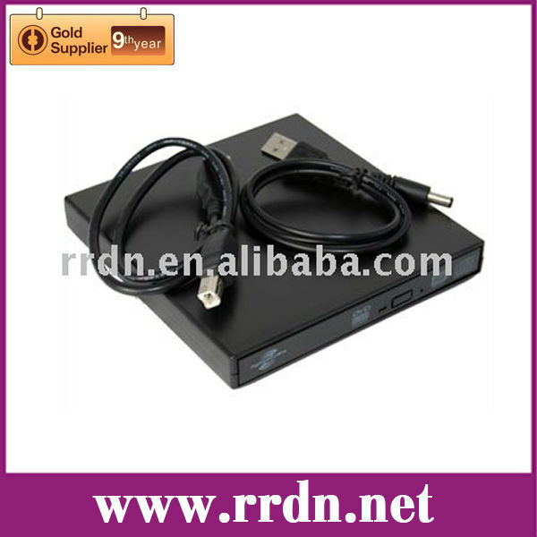 External USB2.0 LightScribe 24XCD 8XDVD Burner