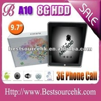 Best Christmas gift! 2012 best review of tablet! Cortex A8 tablet pc with gaming tablet