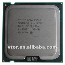 Intel pentium Dual Core CPU E5300/SLGTL 2.6GHz 2M 800MHz with reasonable price