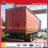 Tri-Axles Enclosed Cargo Caravan Trailer/3-Axles SideCurtain Side Tarpaulin Open Semi Trailer