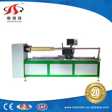 China supplier automatic cnc fabric tape strip slitting machine