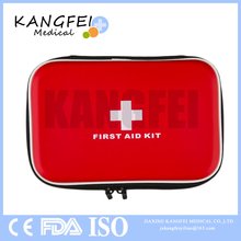 Top Selling KF703 First Response Compact First Aid Kit with Zipper Packed with hospital grade medical supplies for emergency