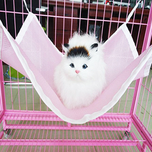 portable folding indoor soft covered hanging sleeping bed cat hammock for cat