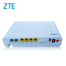 4FE + 2POTS + WiFi + 1USB V5.0 ZTE F460 ONU, 4 Port WiFi EPON ONU for Fiber Optic Network Router
