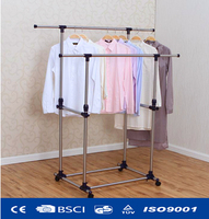 telescopic folding foldable clothes dryer