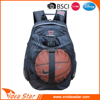 Ribstop 600D lightweight portable customized basketball backpacks